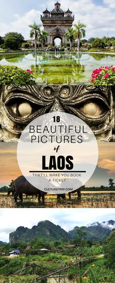 18 Stunning Photos That'll Make You Book a Ticket to Laos|Pinterest: theculturetrip