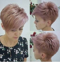 Hairstyles For School Haircut Short Punk Pixie Hairstyles 42 Super Ideas.Hairstyles For School Haircut Short Punk Pixie Hairstyles 42 Super Ideas Edgy Haircuts, Haircuts For Fine Hair, Short Pixie Haircuts, Pixie Hairstyles, Cool Hairstyles, Haircut Short, Wedge Hairstyles, Everyday Hairstyles, Wedding Hairstyles