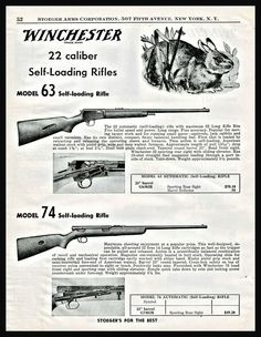 Winchester Firearms, Rifle Targets, Long Rifle, Lever Action, Hunting Gear, Print Ads, Rifles, The Originals, Weapons