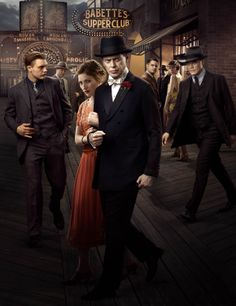 Boardwalk Empire. This is an interesting period piece and dissection of morality. I need to get caught up...