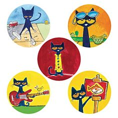 Demco.com -  Pete the Cat® Stickers