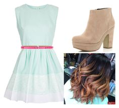"""""""Podemos"""" by cachito-violetta ❤ liked on Polyvore featuring Topshop, Valentino and River Island"""