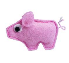Glücksschweinchen - ♥ Mini GlücksSchweinchen ♥ Glücksbringer ♥ - ein Designerstück von LENIundZeus bei DaWanda
