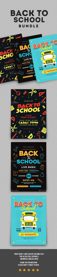 Black Friday Sale Flyer Vol3 Fonts, Font logo and Flyer template - talent show flyer