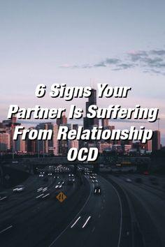 relation OCD och dating