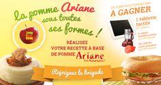 Vous aussi venez participer au #concours de recettes Ariane les Naturianes !! #lapommearianesoustoutessesformes