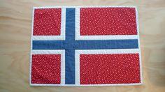 Sew Some Sunshine: Norwegian Flag Mini