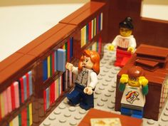The Library in Lego Form (aka the absolute last post I will write about Lego librarians)