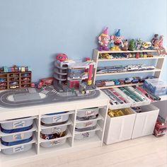 My Shelf/IKEA/イケア/子ども部屋/おもちゃ/トミカ...などのインテリア実例 - 2015-11-04 08:34:16