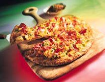 Hearty Turkey Ham Breakfast Pizza - South Dakota Poultry Industry Association