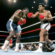 "The ""Thrilla in Manila""- Ali/ Frazier 3- one of the best and most brutal fights I have ever seen."
