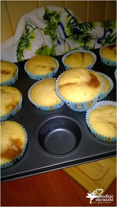 Polish Recipes, Polish Food, Blue Berry Muffins, Blueberries Muffins, Something Sweet, Sweet Recipes, Blueberry, Cooking, Breakfast
