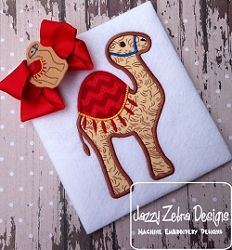 Camel Applique - 3 Sizes! | What's New | Machine Embroidery Designs | SWAKembroidery.com Jazzy Zebra Designs