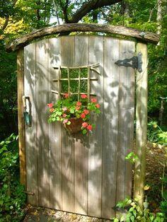 Two Men and a Little Farm: SECRET GARDEN DOOR INSPIRATION THURSDAY