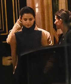 February 27: Selena leaving La Reserve with The Weeknd in Paris, France [GP]