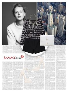 """""""Sammydress 4/1"""" by worldoffashionr ❤ liked on Polyvore featuring Assad Mounser, Nly Shoes and sammydress"""