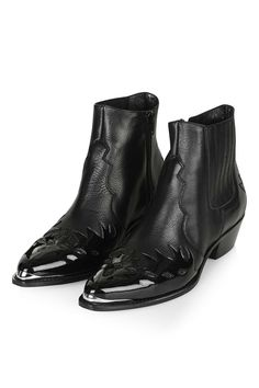 ARSON Western Ankle Boots - Shoes- Topshop Europe