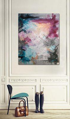 Rikke Laursen moderne abstrakte malerier   SHOWROOM