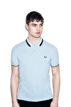 Bold Tipped Pique Shirt