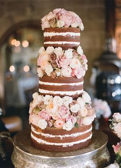 See this gorgeous Santa Barbara, California wedding that's filled with the most beautifully detailed wedding decor as captured by Megan Sorel Photography. Mod Wedding, Rustic Wedding, Garden Wedding, Wedding Reception, Reception Food, Woodland Wedding, Dream Wedding, Cream Wedding Cakes, Cake Illustration