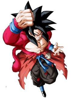 Goku Xeno - SSJ4