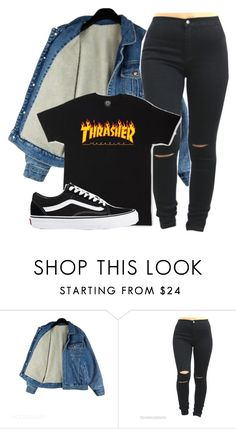 """Untitled #1158"" by shyannelove123 ❤ liked on Polyvore featuring Vans"