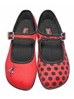 Ladybug Shoes $79 at www.poppingcandy.net.au