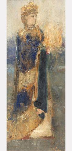 'Magician', c.1906 - Fernand Khnopff