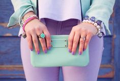 mint pastels via Kastles Pastel Palette, Pastel Colors, Pastels, Daily Fashion, Spring Fashion, Marie Antoinette, Hermes Kelly, My Wardrobe, Clothes For Women