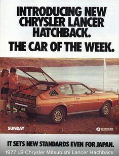 1977 LB Chrysler (Mitsubishi) Lancer Hatchback - Australia, Page TWO of TWO