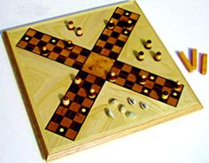 Chaupar is a game similar to Pachisi. Chaupar at the same time is a popular and complex game. For more visit the page. #traditionalsports #sports #game