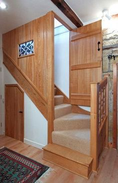 6 Timely ideas: Attic Workspace Creative attic renovation old houses.Attic Interior Kitchens attic home master suite.Attic Renovation Old Houses. Attic Staircase, Loft Stairs, Basement Stairs, House Stairs, Spiral Staircases, Carpet Stairs, Attic Loft, Loft Room, Attic Rooms