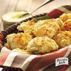 Quick n' Savory Dinner Biscuits from Hungry Jack®  TOTALLY AWESOME!