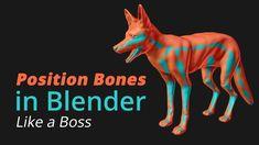 Position Bones in Blender like a Boss - Mary Hagner Blender 3d, Blender Models, Animation Stop Motion, Up Animation, Animation Tutorial, Zbrush, Character Modeling, 3d Character, Character Concept
