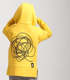 scrawl hoodie Hoodies, Sweatshirts, Kids Fashion, Graphic Sweatshirt, Yellow, Sweaters, Fun, Parka, Trainers