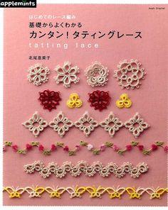 Tatting Lace - libro di artigianato giapponese