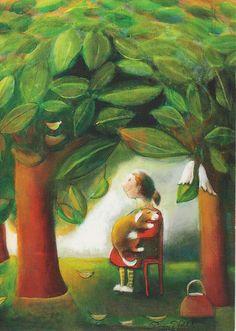 Pastel Art, Funny Art, Illustration, Artist, Flowers, Painting, Finland, Postcards, Language