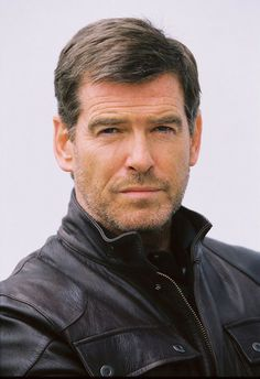 Pierce Brosnan, I've been in lust....er....love with him since Remington Steele.