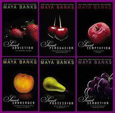 Maya Banks - The Sweet Series. Sweet Surrender, Persuasion, Seduction, Temptation, Possession, Addiction