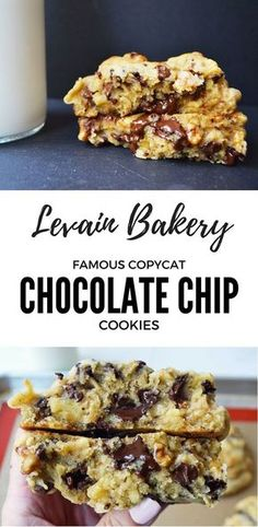 The perfect copycat cookie recipe from the famous New York City Bakery, Levain Bakery. The oversized chocolate chip cookies are unlike any cookie around and are the BEST chocolate chip cookies. This recipe is the closest I have found to the original.
