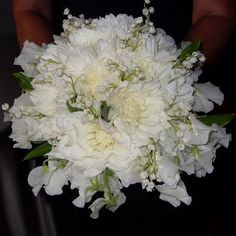 White flowers bouquet