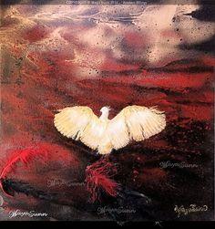 """"""" Broken Wings """" -  MayaSunn Broken Wings, Oeuvre D'art, Les Oeuvres, Gallery, Painting, Paint, Roof Rack, Painting Art, Paintings"""