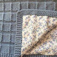 24 Ideas Baby Blanket Manta Bebe Dos Agujas For 2019 Best Baby Blankets, Knitted Baby Blankets, Baby Knitting Patterns, Baby Patterns, Diy Manta, Diy Bebe, Knitting Projects, Knit Crochet, Ideas Creativas