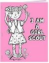 Make a coloring book for your Daisy Girl Scouts to learn the Girl Scout Law. Free printables from MakingFriends.com