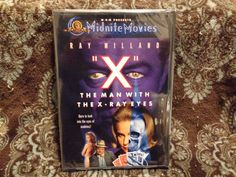 X: The Man with the X-Ray Eyes (DVD, 2001) OOP 1st MGM Midnite Movies! *SEALED*