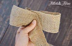 Tidbits&Twine How to Make a Bow Step 4