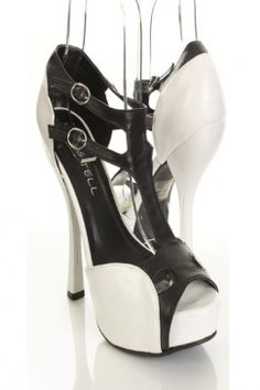 Black and white heels...must have Color combo :)
