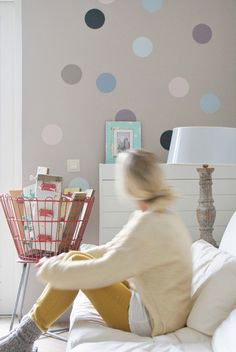 Polka dot interior trend 01