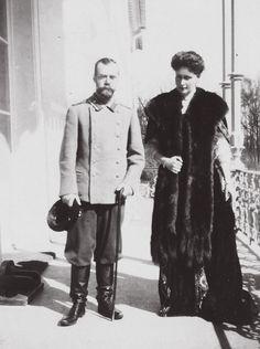 Tsar Nicholas II and Tsarina Alexandra.