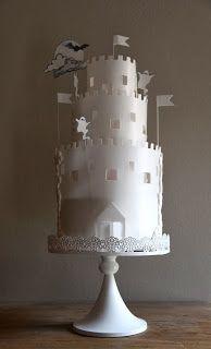 Halloween Cake, Ghost Castle Cake, Torta castello dei fantasmi